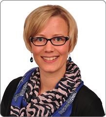 Susanne Adam als Ansprechpartnerin für Verbrauchsabrechnung